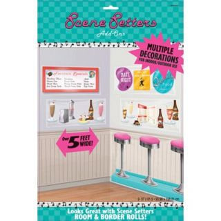 huge scene setters soda shop 50s diner theme decoration from
