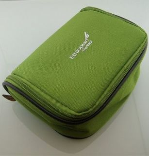 Green Ethiopian Airlines Business First Travel Amenity Kit Overnight