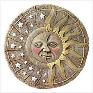 new alab sun star garden plaque celestial