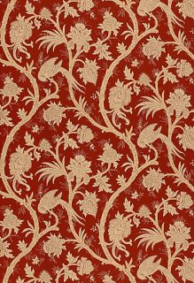 schumacher tenali vine jacobean wallpaper  49 99