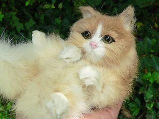Kitty Cat Furry Animal Baby ARTDoll Decorative Figurine * Ooak Fairy