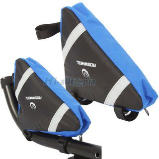 Cycling Triangle Bag Front Tube Frame Pouch Bicycle Bike Saddle Bag