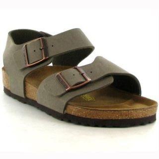Birkenstock Sandals Genuine New York Stone Womens Shoes Sizes UK 4   7