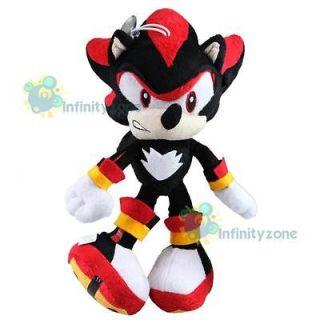 NEW SEGA SONIC THE HEDGEHOG 10 Shadow Game Soft Plush Figure Doll Toy