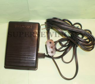 SINGER SEWING MACHINE FEATHERWEIGHT FOOT CONTROL PEDAL 221 & 222 PART