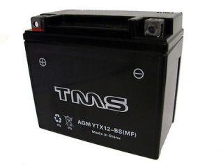 AGM YTX12 BS Battery for Honda VF750 VTR1000F Ninja ER6n KLE Vulcan