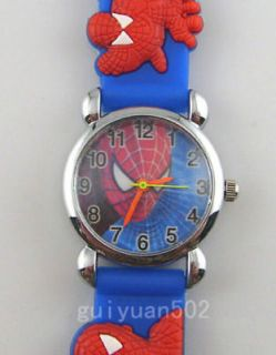Newly listed Spider Man Child Boy Quartz Wrist Watch Xmas SB