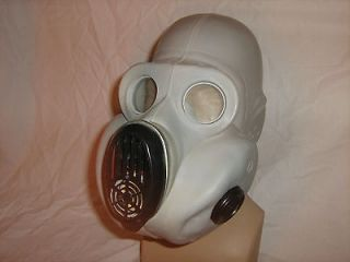 russian ussr military paratrooper gray gas mask pbf from lithuania