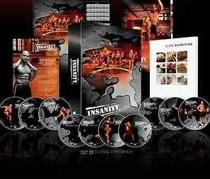 newly listed new sealed insanity workout 13 dvds shaun t