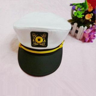 Hat Costume Cap Boating Marine Sailor Seaman Admiral Navy Headwear