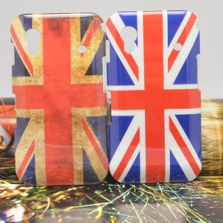 Protector+ 2PCS UK Flag Hard Case Cover For samsung galaxy ace s5830