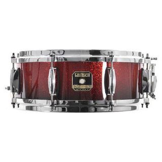Gretsch Renown Maple 5 x 14 Snare Drum Ruby Sparkle Fade RN 0514S