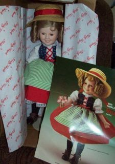 shirley temple heidi danbury mint dolls silver screen time left