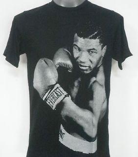 iron mike tyson retro rock t shirt black size medium
