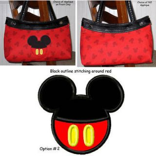 One 31 Thirty Custom Fitted PURSE SKIRT   Mickey Mouse Heads (SKIRT