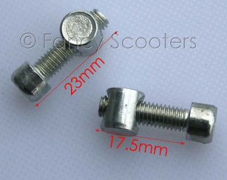Mini Pocket bike Foot Peg Mount Bolt and Nut (paired) (PART04165)
