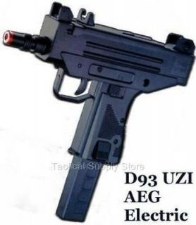 ELECTRIC AUTOMATIC UZI MAC 10 AIRSOFT GUN SMG AUTO PISTOL w/ 6mm bbs