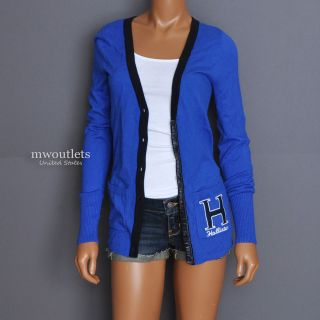 New Hollister Womens Spring Valley Seagull Cardigan Sweater Shirt