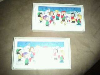Snoopy Hallmark Peanuts Christmas Cards 2 Boxes   36 total   Envelopes