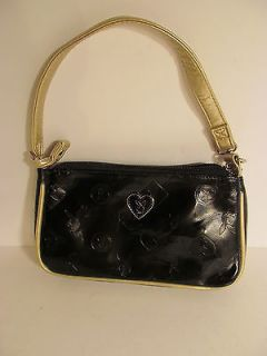 playboy black silver purse handbag new never used