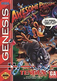Awesome Possum Sega Genesis, 1993