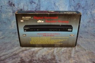Millennium Technologies Digital Surround Decoder Preamp; DAC