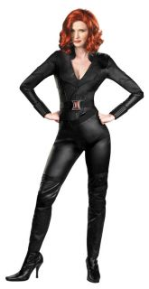 2012 avengers black widow adult deluxe costume size l 12