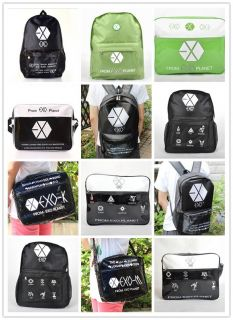 EXO EXO K EXO M FROM PLANET MAMA KPOP SCHOOLBAG BACKPACK SHOULDER BAG