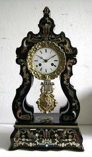 antique french mantle clock from netherlands  450