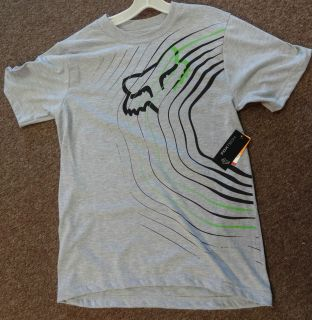 fox racing cycling tee shirt wicking fabric short sleeve fox head more