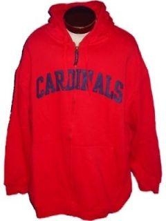 NEW St. LOUIS CARDINALS Zip Hoody Jacket Baseball Mens 4X 4XL XXXXL