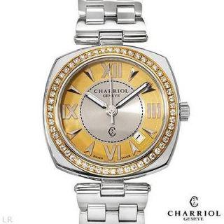 In Switzerland Swiss Movement Diamond Stainless Steel Ladies Watch