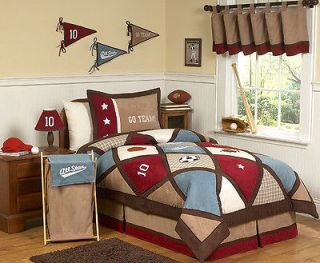 Newly listed ALL STAR SPORTS KIDS TWIN SIZE BEDDING COMFORTER SET FOR