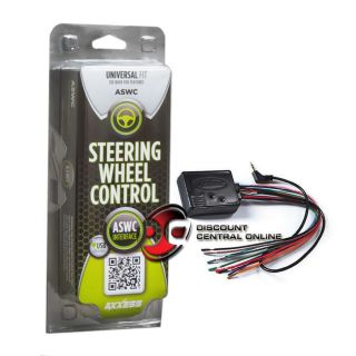 AXXESS ASWC UNIVERSAL STEERING WHEEL CONTROL INTERFACE FOR AFTERMARKET