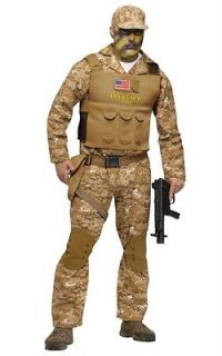 Military Special Forces Navy Seal Adult Halloween Costume 131114