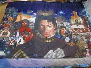 michael jackson MJ Classic breaking new Bed sheet Blanket 59.05in X 78