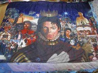 michael jackson MJ Classic breaking new Bed sheet Blanket 59.05in X 78
