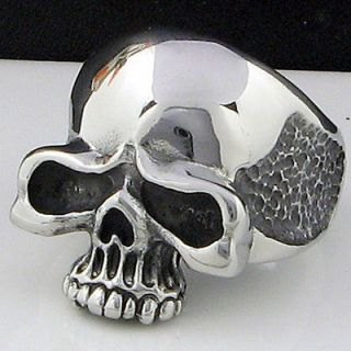 cool horrible skull stainless steel ring size 12 5 new