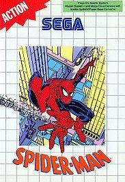 Spider Man Sega Master, 1991