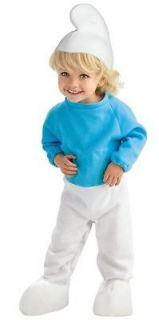 New Baby Infant Toddler SMURFS Kids Halloween Costume Cute Baby Smurf