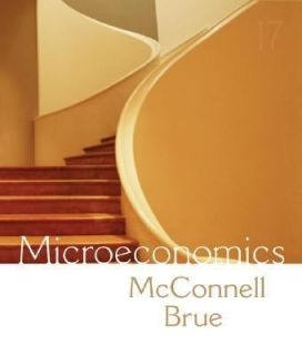 Microeconomics Principles, Problems, and Policies by Stanley L. Brue