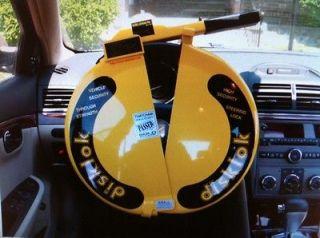 New DISKLOK SECURITY Full STEERING WHEEL LOCK Car Airbag Auto S (34cm