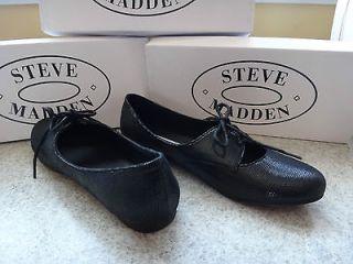 steve madden for woman festive flats black size 8 bran new