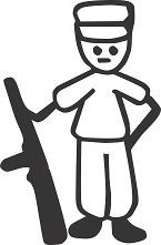 STICK PEOPLE FAMILY MILITARY SON DAD VINYL AUTO CAR WINDOW DECAL