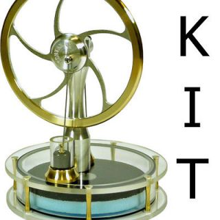 kontax solar ultra low temperature stirling engine kit full assembly