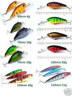 huge lot of 16 brand new fishing lure baits tackle