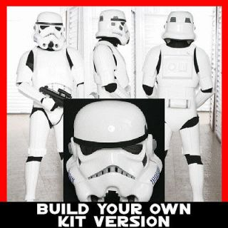 star wars stormtrooper full costume armor 501st anh build your