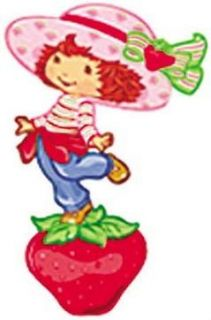 15 STRAWBERRY SHORTCAKE Kids room Nursery Decor Decals Wall Stickers