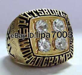 1979 NFL Pittsburgh Steelers ANDERSON SUPER BOWL Championship