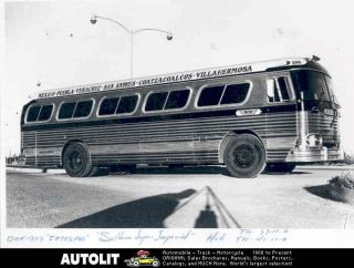 1958 sultana super imperial ii bus factory photo mexico returns